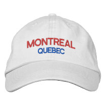 Montreal Quebec Personalized Adjustable Hat