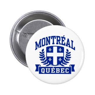 Montreal Quebec Pin Redondo 5 Cm