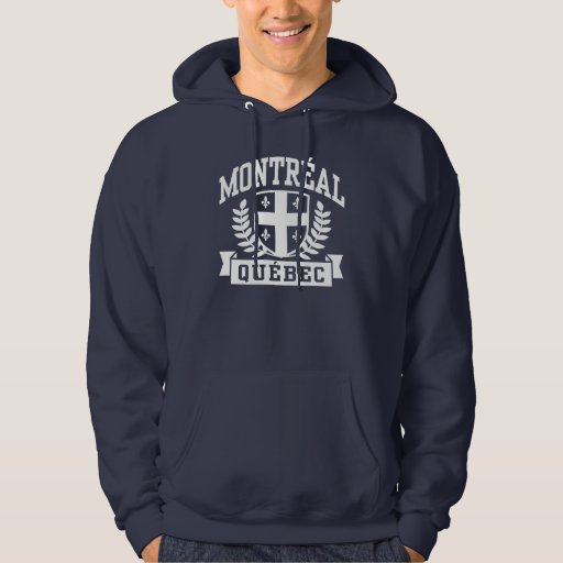 Montreal Quebec Sudadera Con Capucha