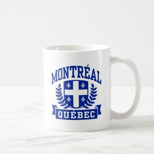 Montreal Quebec Taza Básica Blanca