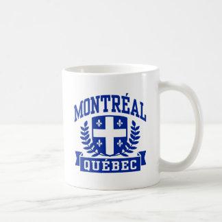 Montreal Quebec Taza Clásica