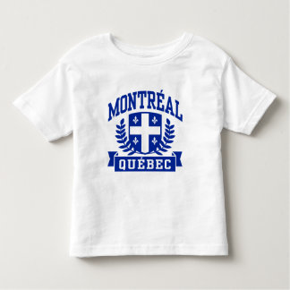 Montreal Quebec Toddler T-shirt
