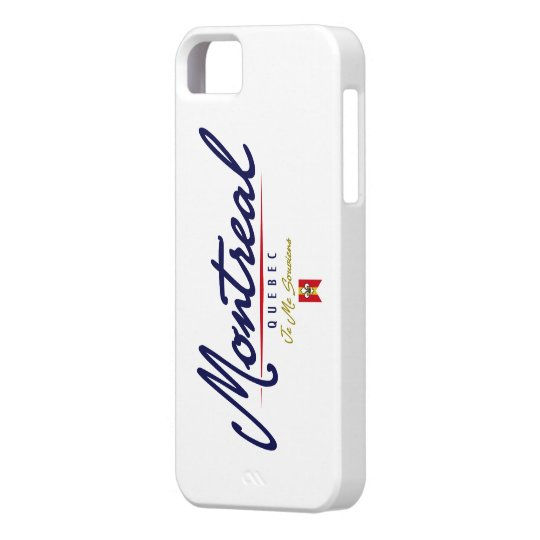 Montreal Script iPhone SE/5/5s Case