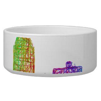 Montreal skyline bowl