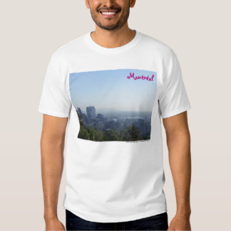 Montréal Skyline Tee Shirt