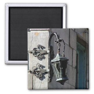 Montreal Street Lamp 2 Inch Square Magnet