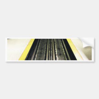 Montreal subterráneo pegatina para auto