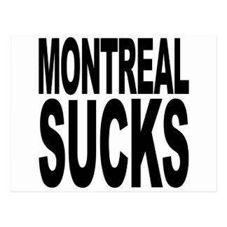 Montreal Sucks Postcard