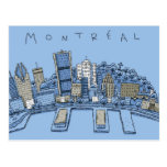 Montreal Tarjeta Postal