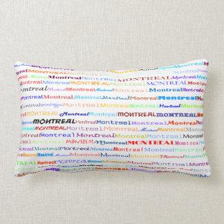 Montreal Text Design II Lumbar Pillow