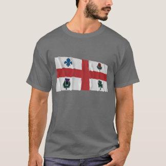Montreal Waving Flag T-Shirt