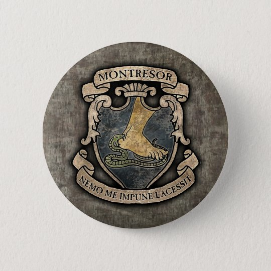 Montresor Coat of Arms Button