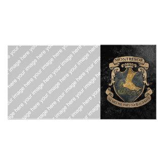 Montresor Coat of Arms Card