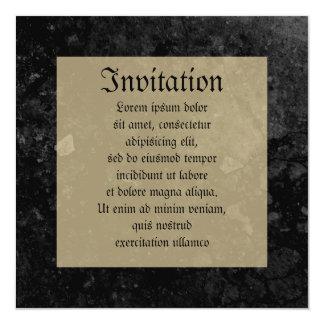 Montresor Coat of Arms Custom Invite