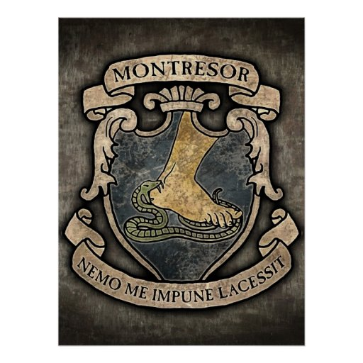 essay on montresor This essay will discuss the commonalities of montresor and fortunato and then discuss their differences from the beginning of the story we become aware .