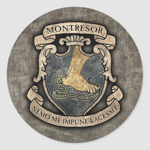Monterors U Monterors: Montresor Coat Of Arms Classic Round Sticker