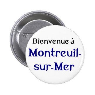 Montreuil Les Miserables Pinback Button