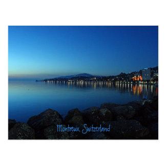 Montreux por noche postal