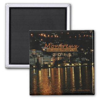 Montreux Switzerland Nighttime Magnet Change Year