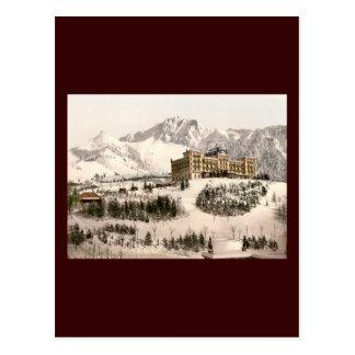 Montreux Switzerland Postcard
