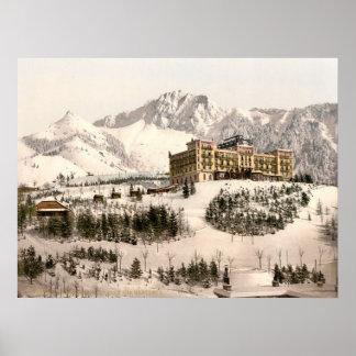 Montreux Switzerland Poster