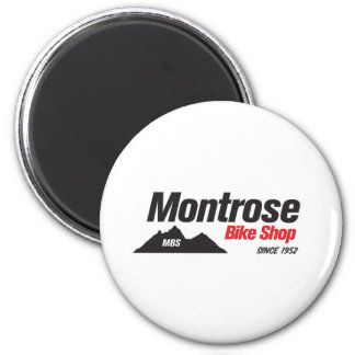 Montrose Bike Shop 2 Inch Round Magnet
