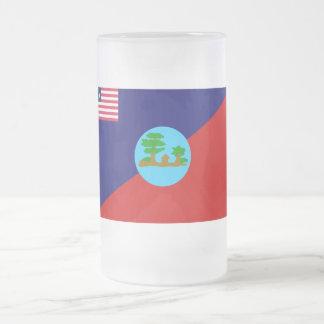 Montserrado County Flag Coffee Mugs