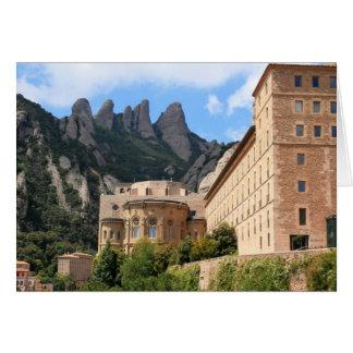 Montserrat Abbey Greeting Card