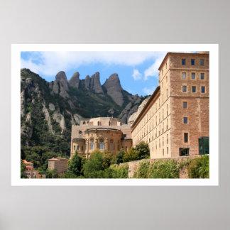 Montserrat Abbey Poster
