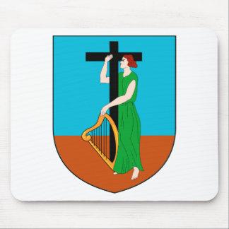 Montserrat Coat of Arms Mousepad