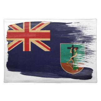 Montserrat Flag Cloth Placemat