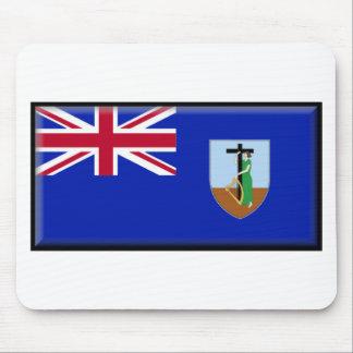 Montserrat Flag Mouse Pads
