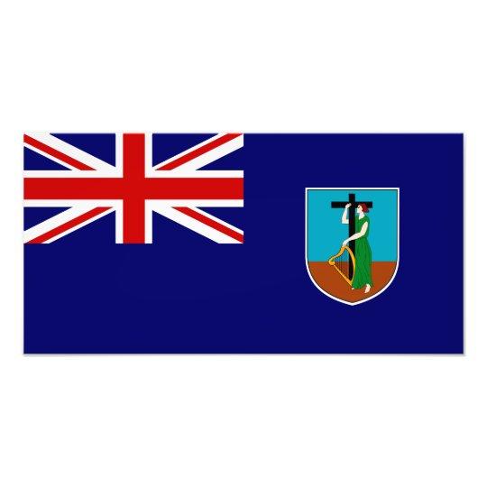 Montserrat Flag Photo Print