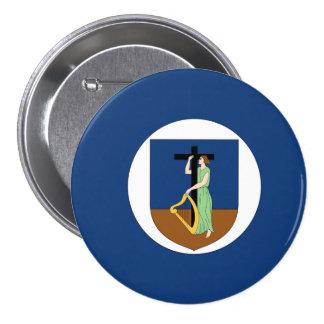 Montserrat Flag Pinback Button