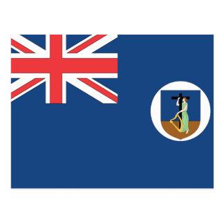 Montserrat Flag Post Cards