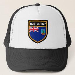 Montserrat Flag Trucker Hat