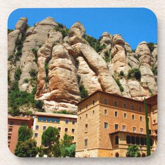 Montserrat Monastery, Catalonia, Spain Drink Coasters