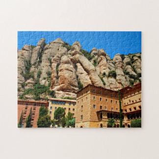 Montserrat Monastery, Catalonia, Spain Jigsaw Puzzles