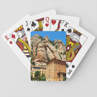Montserrat Monastery, Catalonia, Spain Playing Cards