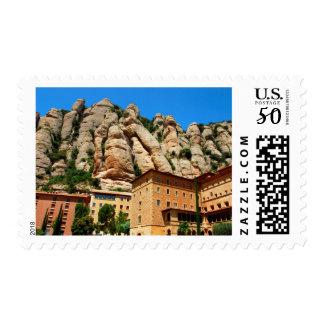 Montserrat Monastery, Catalonia, Spain Postage
