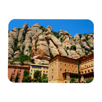 Montserrat Monastery, Catalonia, Spain Rectangular Photo Magnet