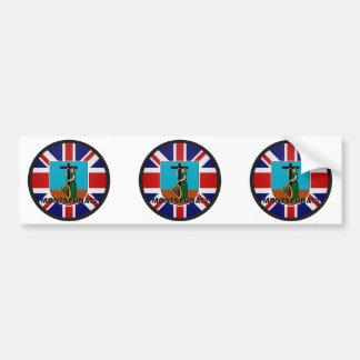 Montserrat Roundel quality Flag Car Bumper Sticker