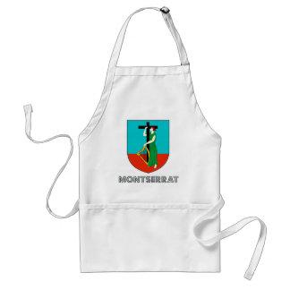 Montserratian Emblem Apron