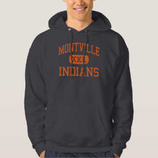 Montville - Indians - High - Oakdale Connecticut Hoodie