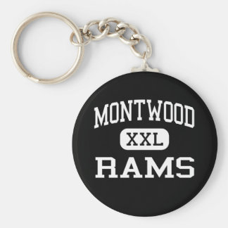 Montwood - Rams - High School - El Paso Texas Keychain