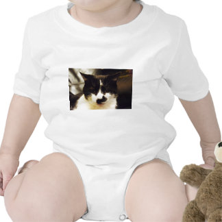 Monty Black and White cat T Shirts