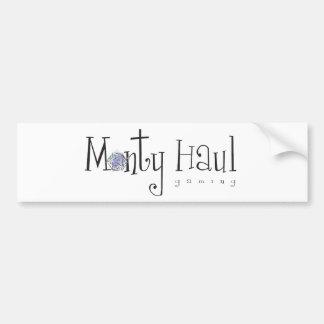 Monty Haul Sticker