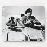 Monty In A Tank Mousepad