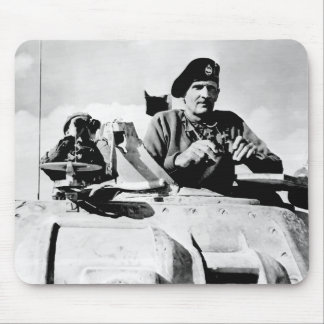 Monty In A Tank Mouse Pad