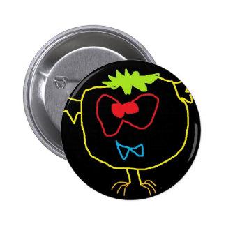 Monty lindo la insignia del Pin del monstruo